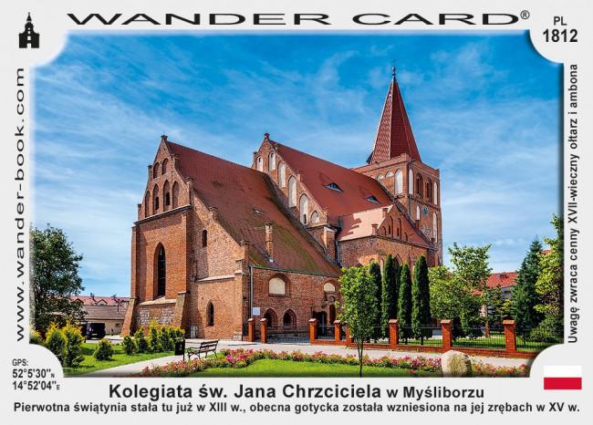 Kolegiata św. Jana Chrzciciela w Myśliborzu