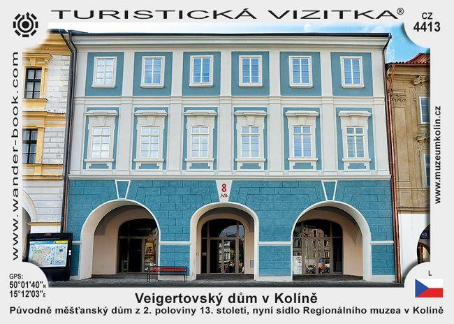 Veigertovský dům v Kolíně