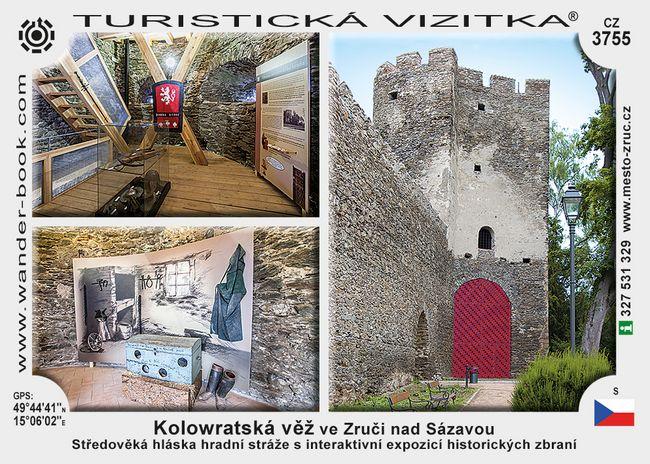 Kolowratská věž ve Zruči nad Sázavou