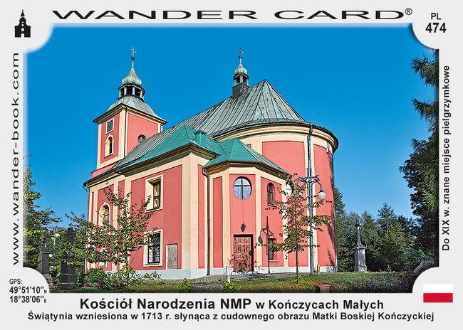 Kończyce kościół NMP