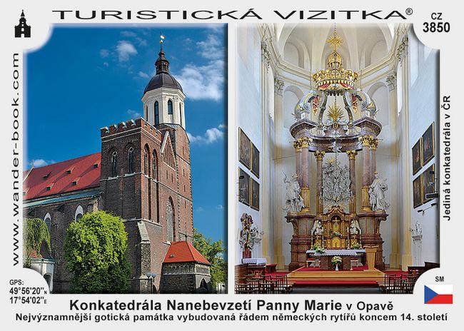 Konkatedrála Nanebevzetí Panny Marie v Opavě