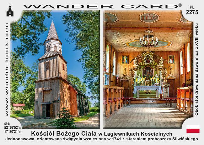 Kościół Bożego Ciała w Łagiewnikach Kościelnych