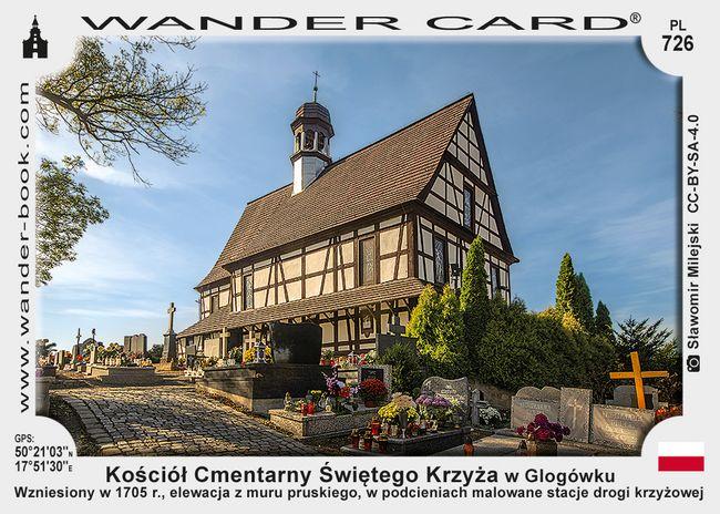 Kościół Cmentarny Świętego Krzyża w Glogówku