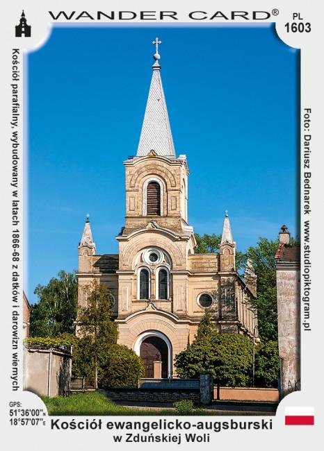 Kościół ewangelicko-augsburski w Zduńskiej Woli