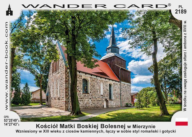 Kościół Matki Boskiej Bolesnej w Mierzynie