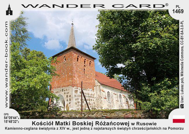 Kościół MB Różańcowej w Rusowie
