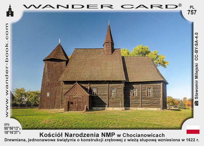 Kościół Narodzenia NMP w Chocianowicach