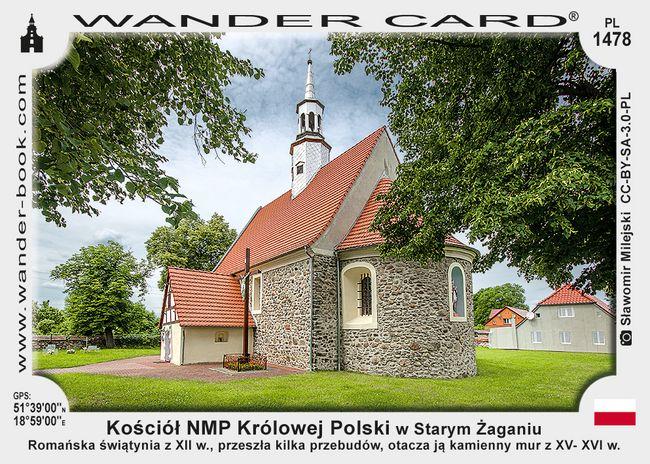 Kościół NMP Królowej Polski w Starym Żaganiu