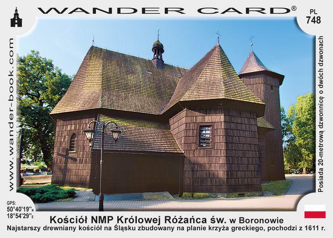 Kościół NMP Królowej Różańca świętego w Boronowie