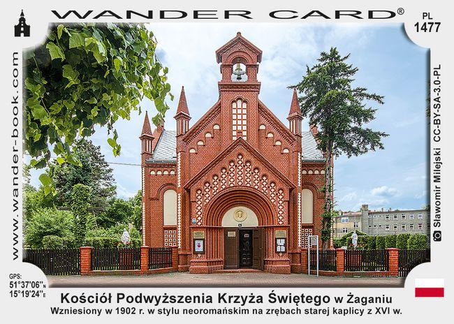 Kościół Podwyższenia Krzyża Świętego w Żaganiu
