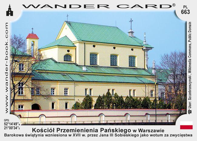 Kościół Przemienienia Pańskiego w Warszawie