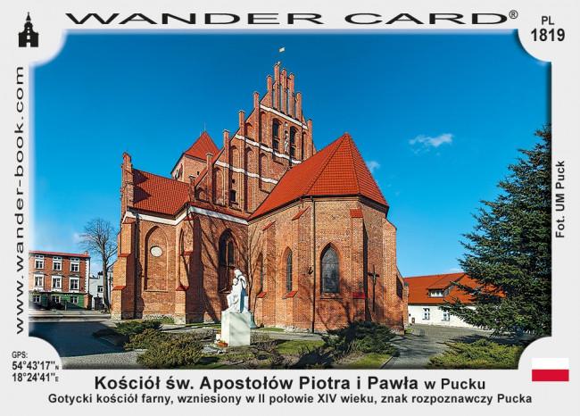 Kościół św. Apostołów Piotra i Pawła w Pucku