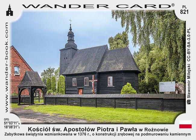 Kościół św. Apostołów Piotra i Pawła w Rożnowie
