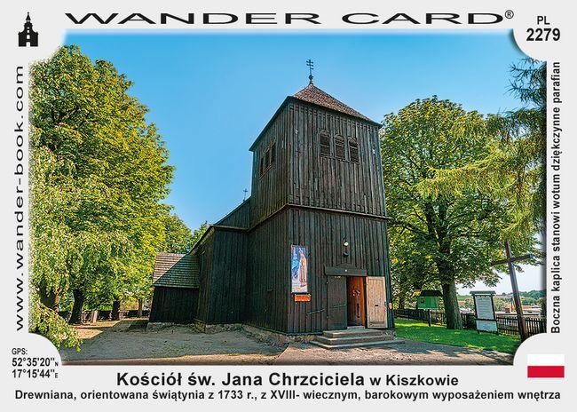 Kościół św. Jana Chrzciciela w Kiszkowie