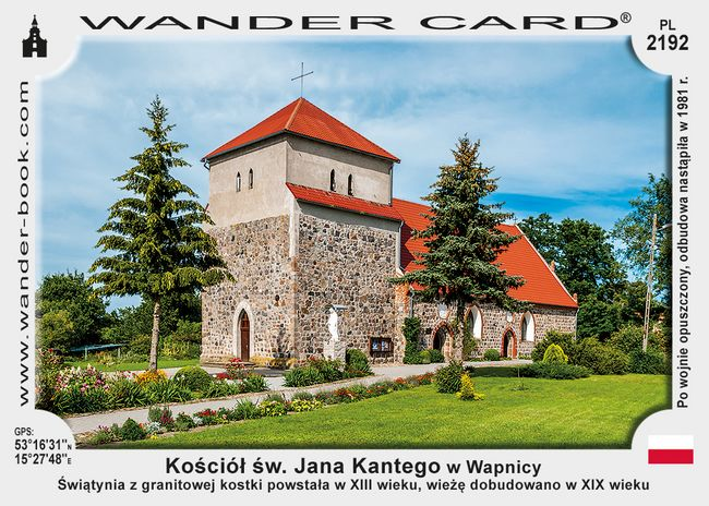 Kościół św. Jana Kantego w Wapnicy