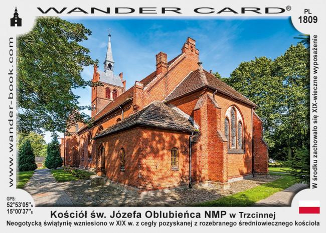 Kościół św. Józefa Oblubieńca NMP w Trzcinnej