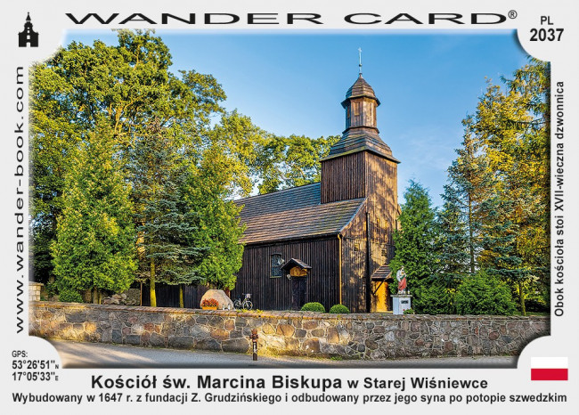 Kościół św. Marcina Biskupa w Starej Wiśniewce
