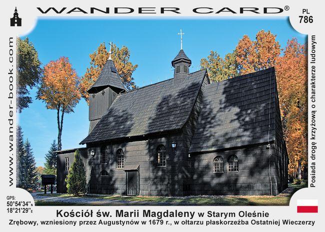 Kościół św. Marii Magdaleny w Starym Oleśnie