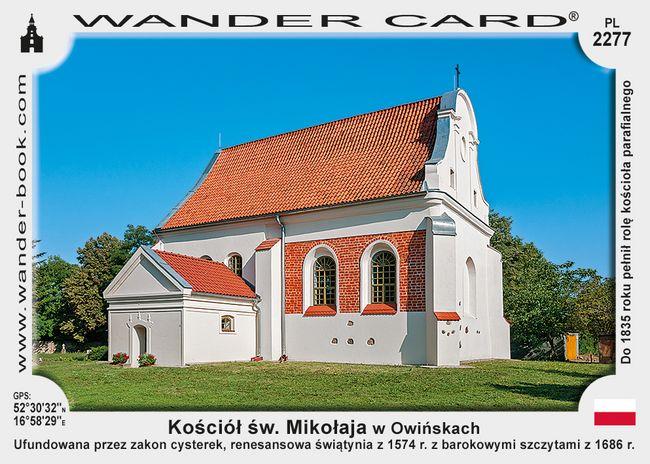 Kościół św. Mikołaja w Owińskach
