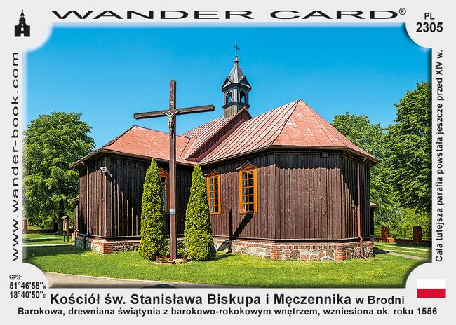 Kościół św. Stanisława Biskupa i Męczennika w Brodni
