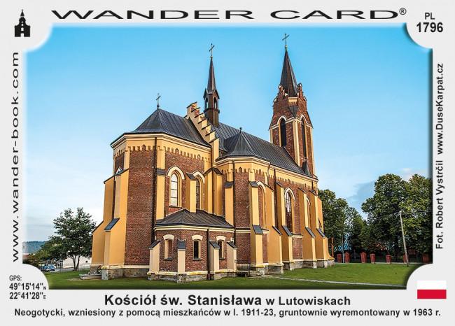 Kościół św. Stanisława w Lutowiskach