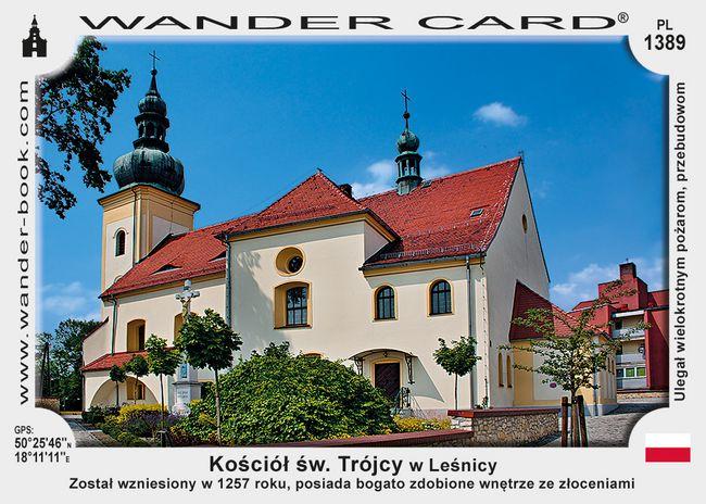 Kościół św. Trójcy w Leśnicy