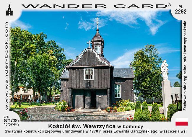 Kościół św. Wawrzyńca w Łomnicy