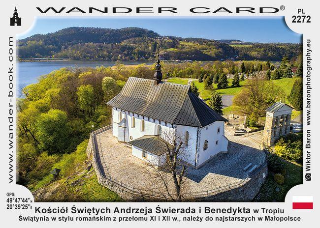 Kościół Świętych Andrzeja Świerada i Benedykta w Tropiu