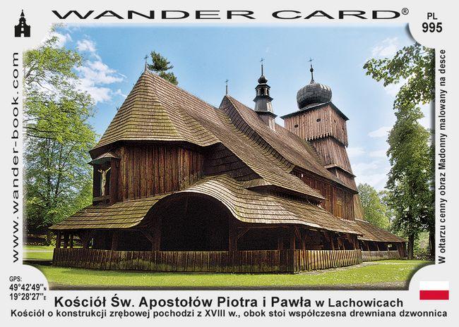 Kościół Świętych Apostołów Piotra i Pawła w Lachowicach