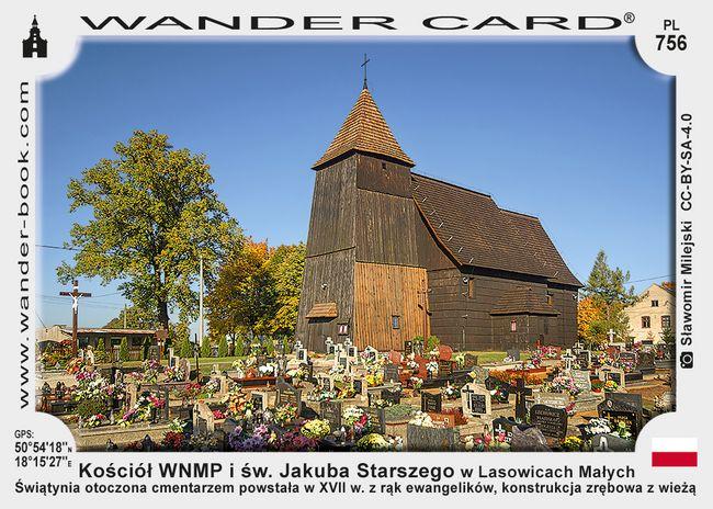 Kościół Wniebowzięcia NMP i św. Jakuba Starszego w Lasowicach Małych