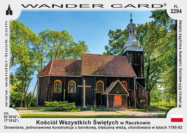 Kościół Wszystkich Świętych w Raczkowie