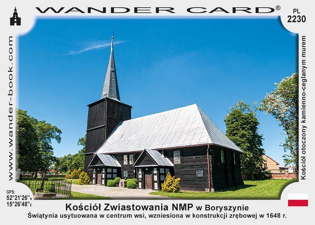 Kościół Zwiastowania NMP w Boryszynie