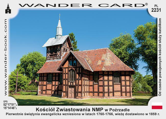 Kościół Zwiastowania NMP w Poźrzadle