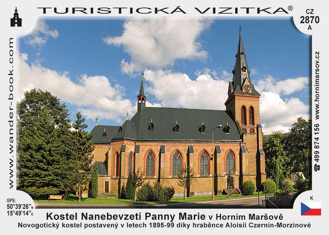 Kostel Nan. P. Marie v Horním Maršově