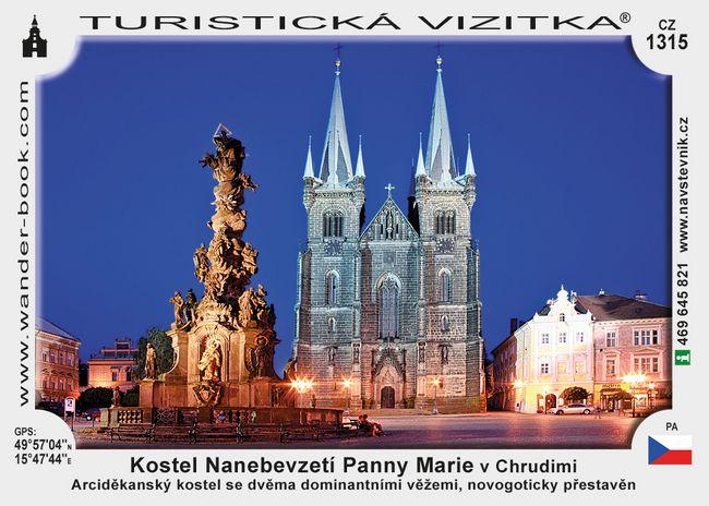 Kostel Nanebev. Panny Marie v Chrudimi