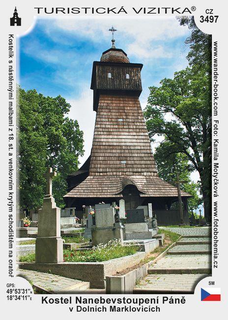 Kostel Nanebevst. Páně v D. Marklovicích