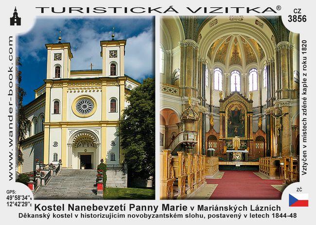 Kostel Nanebevzetí P. Marie v Mariánských Lázních