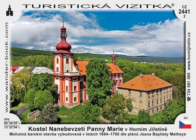 Kostel Nanebevzetí Panny Marie v Horním Jiřetíně