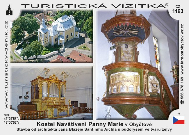 Kostel Navšt. Panny Marie v Obyčtově