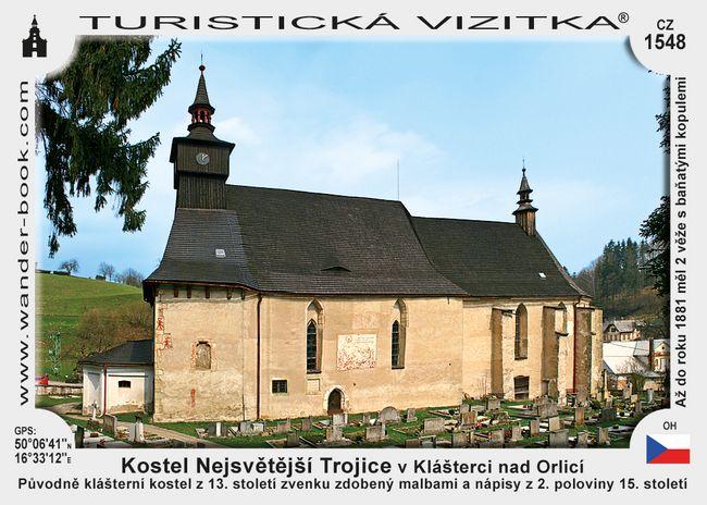 Kostel Nejsv. Trojice v Klášterci nad Orl.