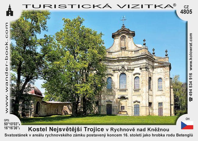 Kostel Nejsvětější Trojice v Rychnově nad Kněžnou