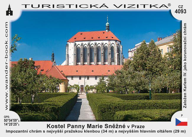 Kostel Panny Marie Sněžné v Praze