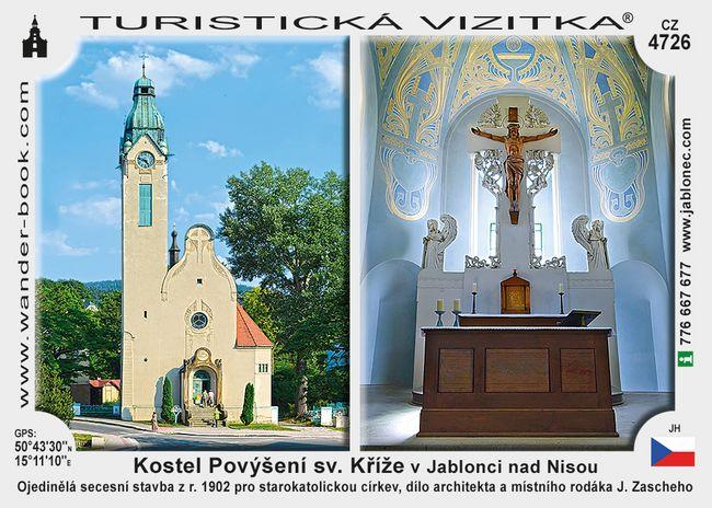 Kostel Povýšení sv. Kříže v Jablonci nad Nisou