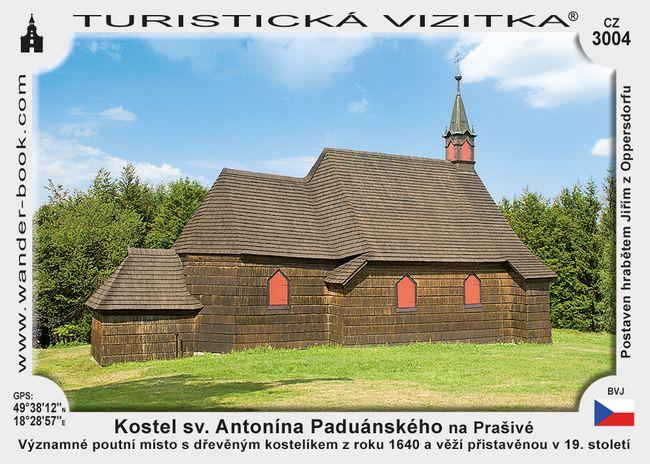 Kostel sv. A. Paduánského na Prašivé