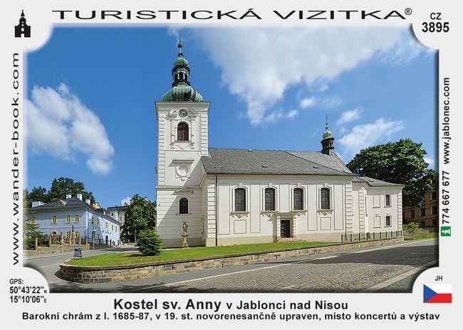 Kostel sv. Anny v Jablonci nad Nisou