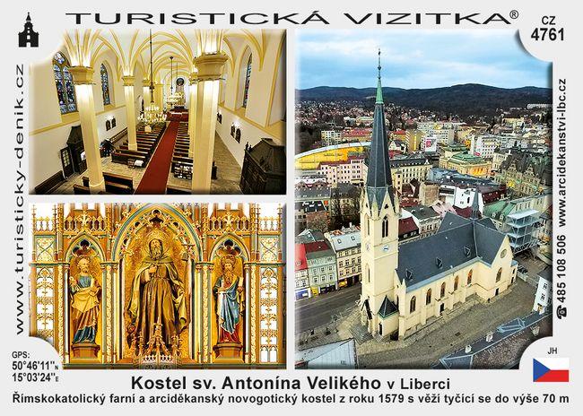 Kostel sv. Antonína Velikého v Liberci