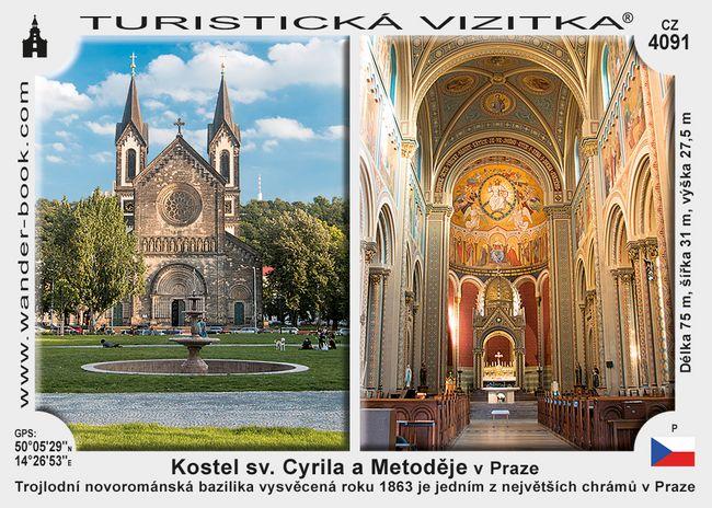 Kostel SV. Cyrila a Metoděje v Praze
