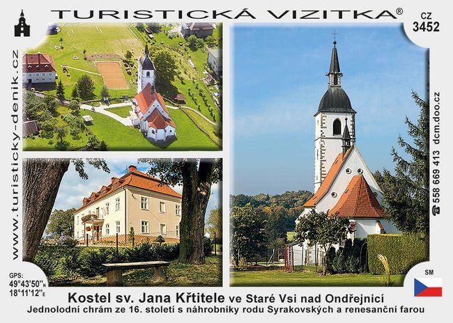 Kostel sv. J. Křtitele ve Staré Vsi n. Ondř.