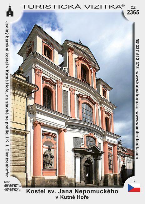 Kostel sv. Jana Nepomuckého v K. Hoře