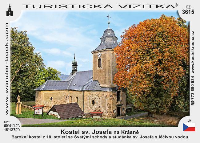 Kostel sv. Josefa na Krásné